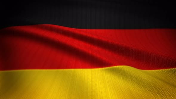 Thumbnail for Germany Flag Seamless Loop