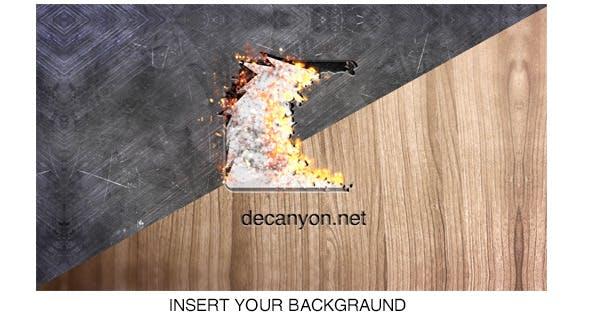 Burning Logo Opener