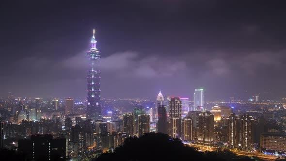 Thumbnail for Taipei Taiwan Night City