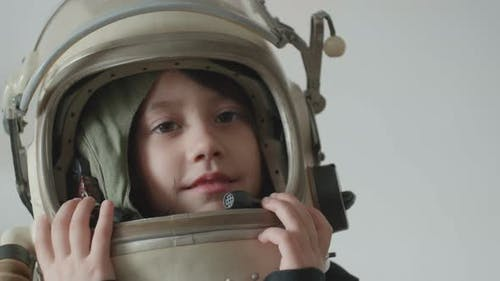 Little Girl Astronaut