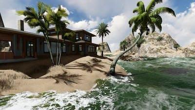 Villa by the beach