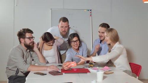 Business Team Taking Team Photo