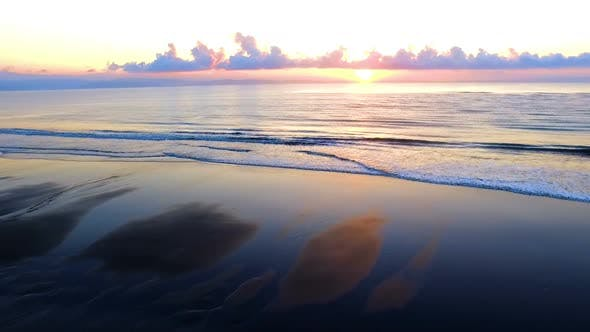 Thumbnail for Virgin Unspoiled Caribbean Beach at Sunrise