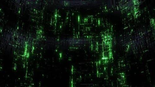 Data Shaft Green