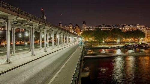 Paris Night Time Lapse