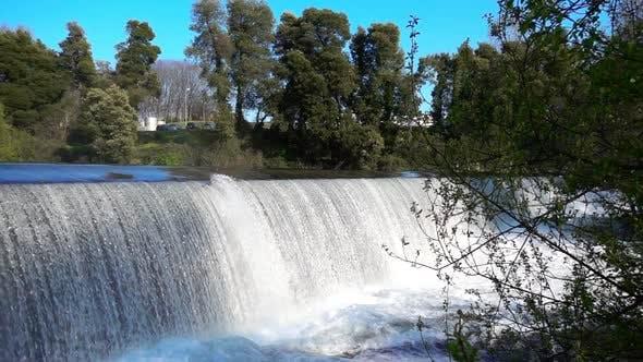 Cinematic Waterfall