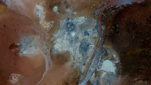 Thumbnail for Drone Over Geothermal Terrain
