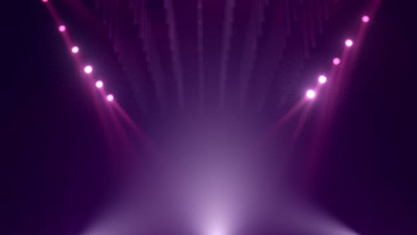 Looped Purple Defocused Mockup Stage Background
