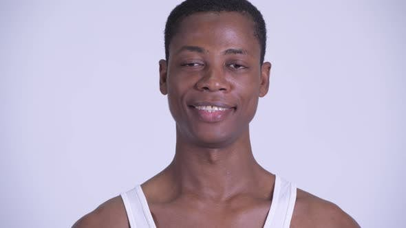 Thumbnail for Face of Happy Young Handsome African Man Smiling