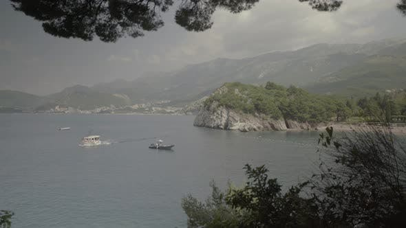 Thumbnail for Mountains and the Sea. Coastal Landscape. Montenegro