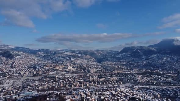 Thumbnail for Aerial View Of Sarajevo City - 2 Pack