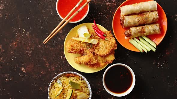 Thumbnail for Picy Thai Deep Fried Fish Coated in Breadcrumbs
