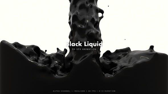 Black Liquid Fill