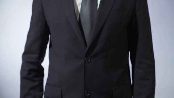 Thumbnail for Online Business Written on Blackboard, Businessman Holding Sign, Freelance