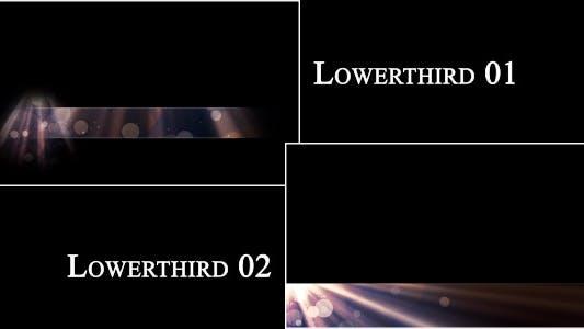 Thumbnail for Heavenly Light Lowerthird Set