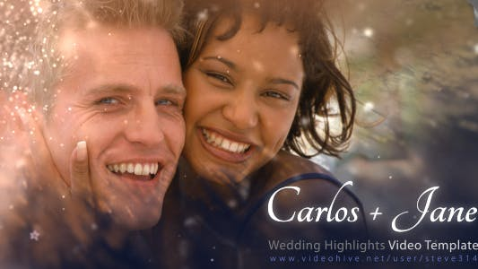 Cover Image for Wedding Highlights - Video Template