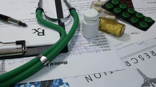 Thumbnail for Medical Prescriptions For Medicines In The Office