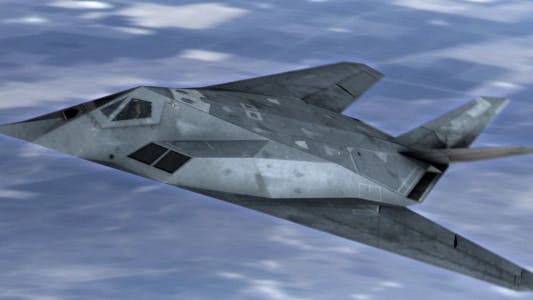 Thumbnail for Stealth Jet Fighter Flight