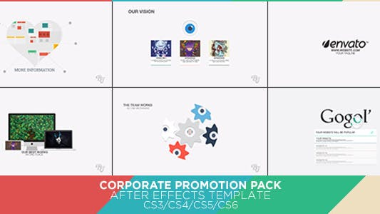 Thumbnail for Corporate Promotion Pack