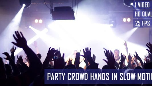 Thumbnail for Hands Of Party Crowd