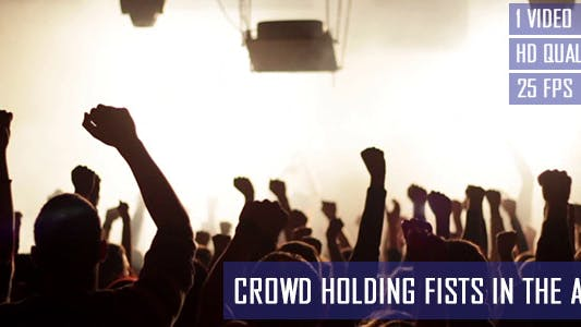 Thumbnail for Party Crowd Holding Fists In The Air