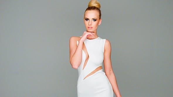 Thumbnail for Elegant Beautiful Blond Woman