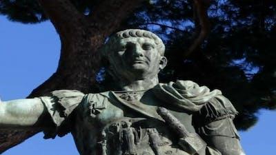 Trajan's Statue in Rome