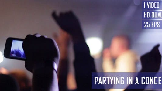 Thumbnail for Partying In A Concert
