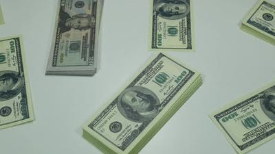 Dollars In A Bank
