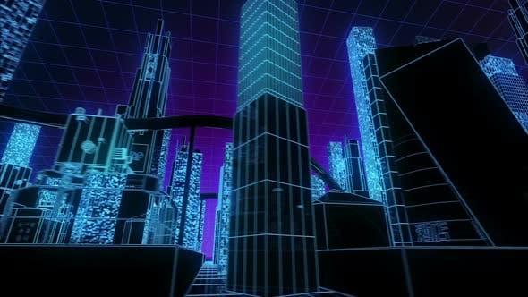Thumbnail for Kybernetische Neon-Stadt