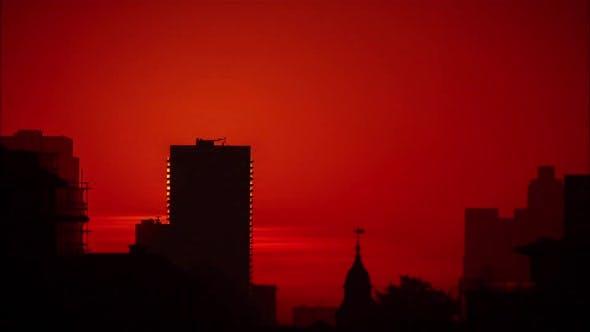 London England Sunrise