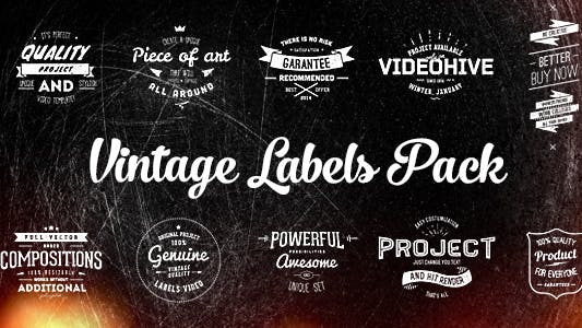 Thumbnail for Vintage Labels