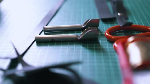 Professional Designer Puts Different Steel Corner Cutters