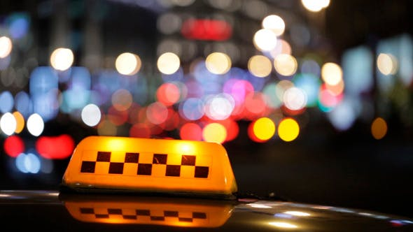 Thumbnail for Illuminated Taxi Cab Sign