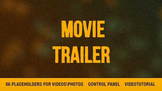 Thumbnail for Cinematic Movie Trailer/Titles