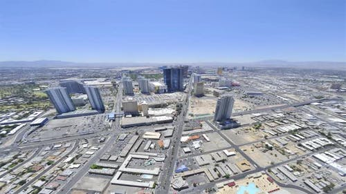 Timelapse of the Las Vegas Strip as viewed from the Stratosphere Hotel.