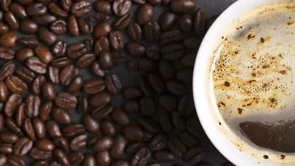 Cover Image for Steaming cup of coffee