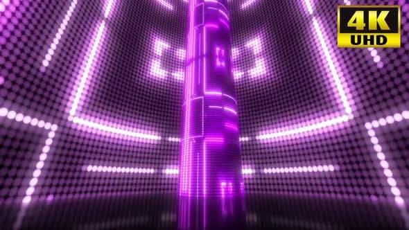 Thumbnail for 4k Pink Led Light Vj Loop