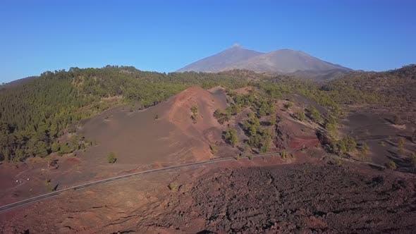 Thumbnail for Aerial View of Teide Caldera, Tenerife