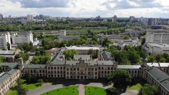 Thumbnail for Cityscape Old University Aerial