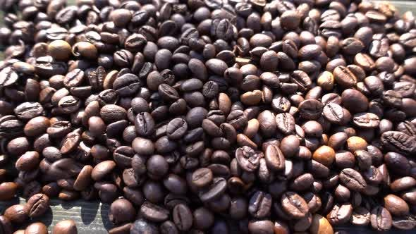 Cover Image for Coffee Beans Falling