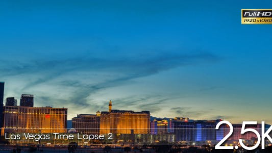 Cover Image for Las Vegas Time Lapse 2