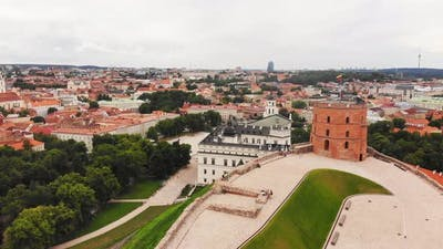 Vilnius Old Town Panorama, Lithuania