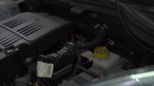 Autoteile Motorhaube