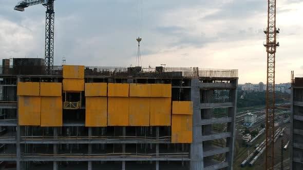 Skyscraper Under Construction