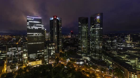 Thumbnail for Timelapse of banking towers in Frankfurt am Main, Germany