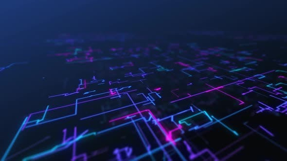 Thumbnail for Data Glowing Lines