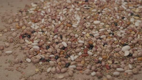 Legumes Dry Beans Mediterranean Food