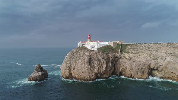 Cover Image for Lighthouse of Cabo Sao Vicente Sagres Portugal