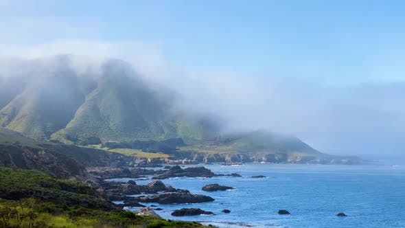 Thumbnail for The beautiful and rugged coastline of Big Sur California